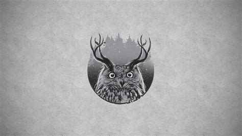 Background Digital Owl Wallpaper by Owls Meh Ro