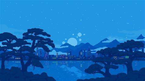 Pixel Backgrounds Pixel Landscape Background 183 Free Hd