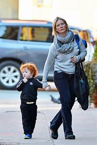 Cynthia Nixon takes her adorable son Max for a walk in New ...