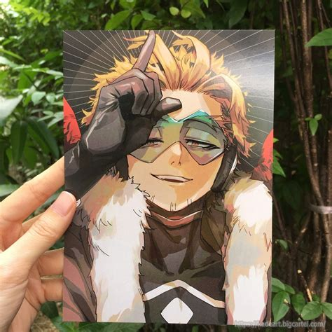 bnha hawks postcard set vol  kadeart