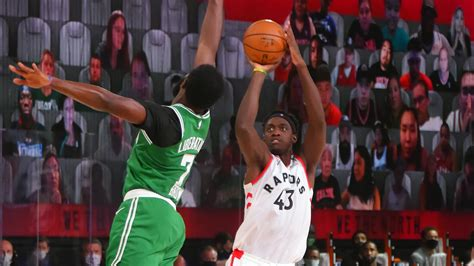 NBA Playoffs 2020: Boston Celtics vs. Toronto Raptors ...
