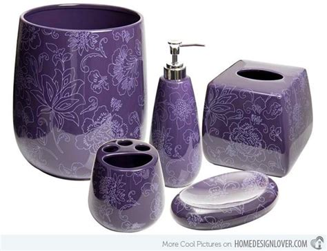 Plum Colored Bathroom Accessories by Plum Colored Bathroom Accessories 15 Purple