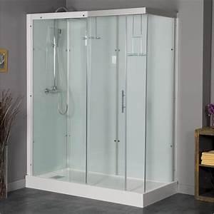 Cabine De Douche Angle : cabine de douche rectangulaire 120x90 cm thalaglass 2 ~ Dailycaller-alerts.com Idées de Décoration