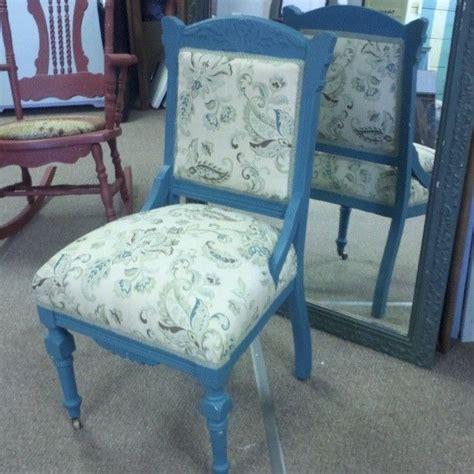 made eastlake chair upholstered