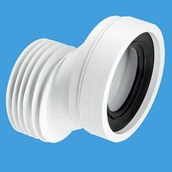 wc 4 quot 110mm offset rigid toilet pan connector mcalpine plumbing mc wc con4a