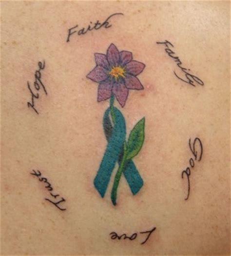 cute ribbon tattoos