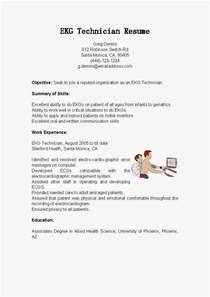 telemetry skills resume resume sles ekg technician resume sle