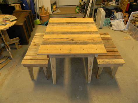 pallet dining room table pallet board dining room table and benches board and