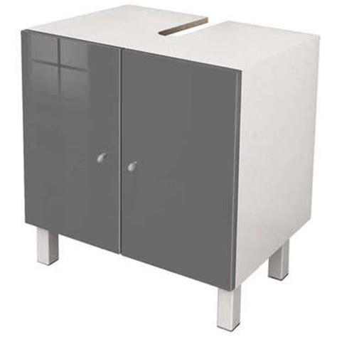 meuble sous lavabo conforama meuble sous lavabo soramena coloris gris vente de meuble et rangement conforama