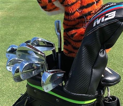 Tiger Woods has switched out his TGR blades for these ...