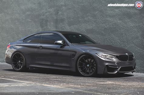 Mineral Gray Metallic Bmw M4 On Hre P43sc Wheels