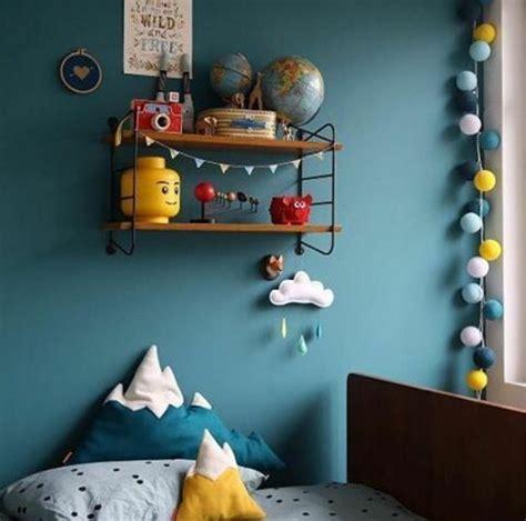 deco chambre bebe garcon bleu canard