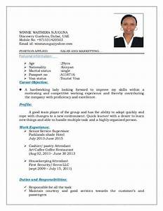 Cv Experience Sample Resume For Flight Attendant Flight Attendant Resume