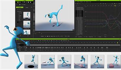 Animation Iclone Software 3d Professional Editing Curve