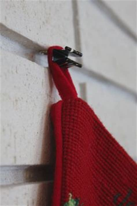 hooks for stockings on brick how to hang wreaths on a brick wall bricks and home