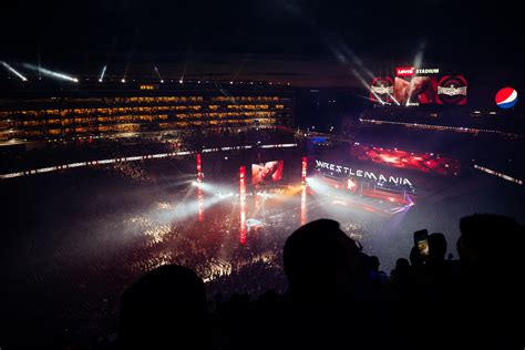 Wrestlemania Xxxi Attendees Used 45 Tb Of Wifi Data At