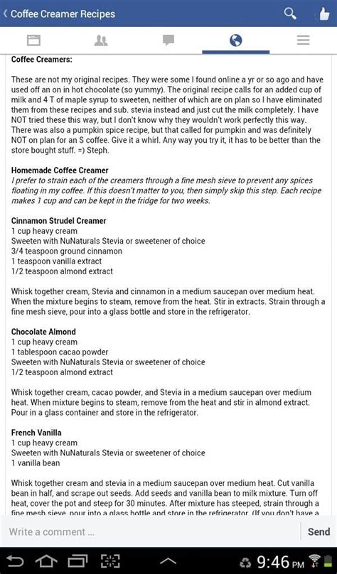 trim healthy mama weekly food log template thm coffee creamers tasty thm coffee shakes drinks