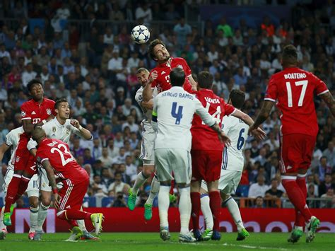 Champions League » News » Bayern Munich v Real Madrid ...