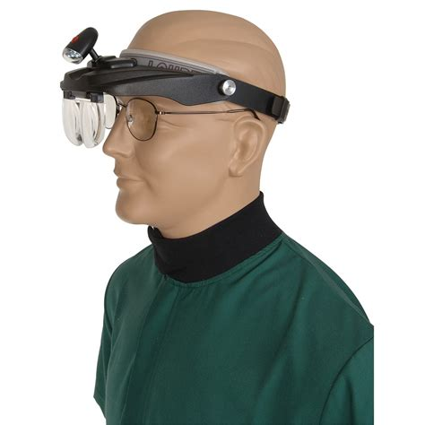 headband loupe  interchangeable lenses magnifying