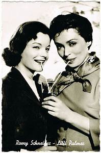 Bild Girl Romy : romy schneider and lilli palmer vintage photo from curioshop on ruby lane ~ Buech-reservation.com Haus und Dekorationen