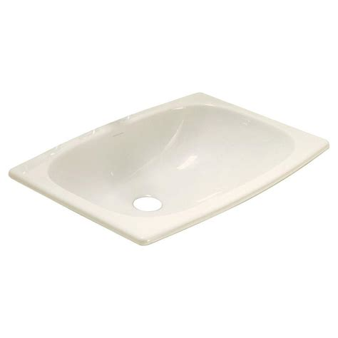 Home Depot Overmount Bathroom Sink by Sterling Stinson Drop In Bathroom Sink In Biscuit 442007