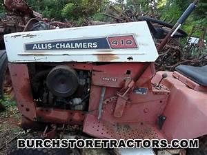 Allis Chalmers 410 Garden Tractor Parts