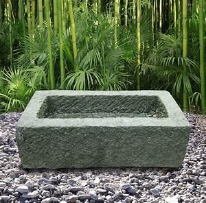 Schwimmingpool Für Den Garten : h bscher steintrog als pflanzgef f r den garten chikara ~ Sanjose-hotels-ca.com Haus und Dekorationen