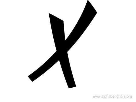 Letter X Clipart