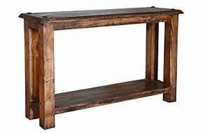Quality, Rustic, Walnut, Laredo, Series, Sofa, Table