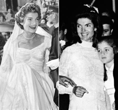 Jackie Kennedys Wedding Dresses Still Make Us Swoon Both