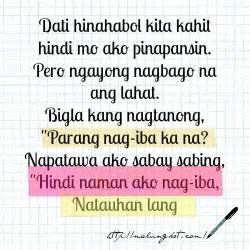 Quotes About Love For Valentines Day Tagalog  Happy heart quotes