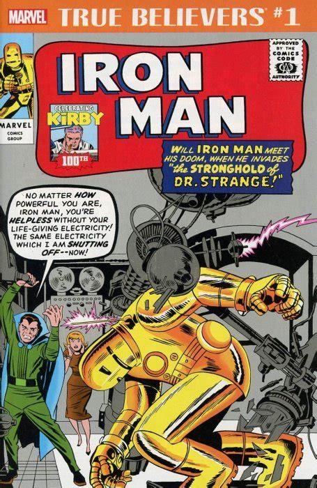 True Believers: Jack Kirby 100th - Iron Man 1 (Marvel ...
