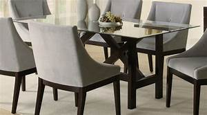 Glass dining table set for Glass dining table sets