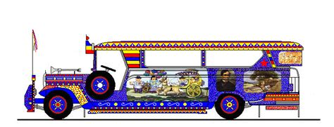 jeepney philippines art jeepney philippines drawing