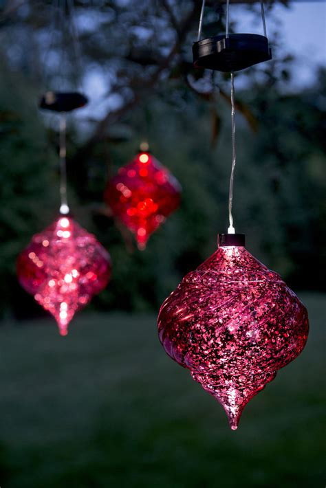 oversized outdoor christmas ornaments large outdoor ornaments hanging solar ornament