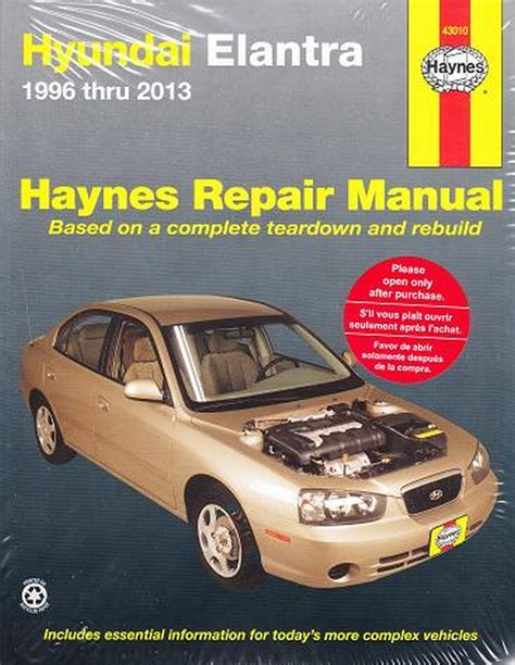 car maintenance manuals 2009 hyundai elantra electronic toll collection 1996 2013 hyundai elantra haynes repair manual 2008 2009 2010 2011 2012 1081 1620921081 ebay