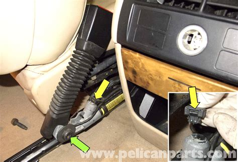 bmw  front seat belt buckle replacement