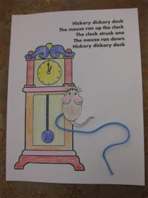 hickory dickory dock activities for preschool nursery rhyme story time toddler verona story time 425