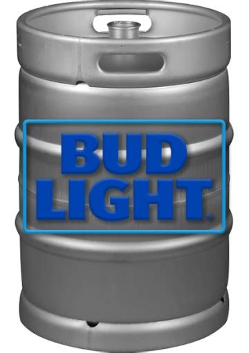 bud light keg bud light 7 75 gallons keg san francisco liquor delivery