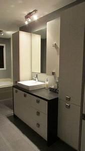 Salle De Bain Contemporaine : 1000 images about salles de bains on pinterest armoires ~ Dailycaller-alerts.com Idées de Décoration