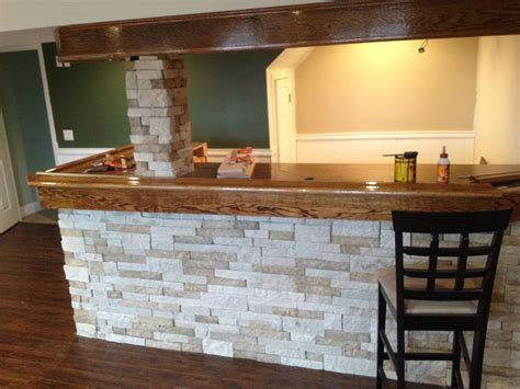 Home Depot Home Bar by My Basement Bar So Far With Airstone From Lowe S