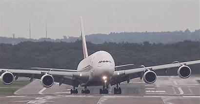 Landing A380 Airbus Crosswind Storm Week Gifs