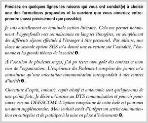 Exemple Lettre De Motivation Bts : lettre motivation bts communication ~ Medecine-chirurgie-esthetiques.com Avis de Voitures