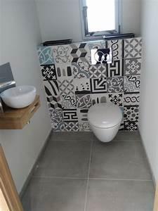 carreaux ciment toilettes stephane mattard artisan With carreaux de ciment toilettes