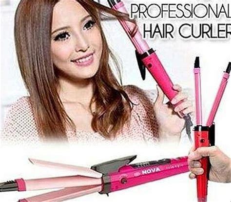 jual catok rambut 2in1 iron lurus keriting curly