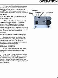 Xantrex Freedom 458 Wiring Diagram