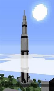 Saturn V Rocket 1:1 Scale « Minecraft :: WonderHowTo