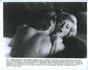 1982 Press Photo Morgan Fairchild, Michael Sarrazin In ...
