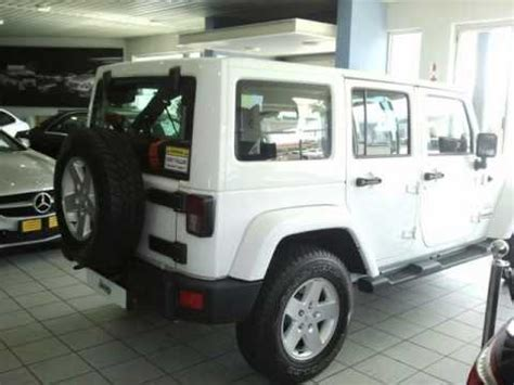 jeep wrangler unlimited crd sahara auto  sale  auto trader south africa youtube