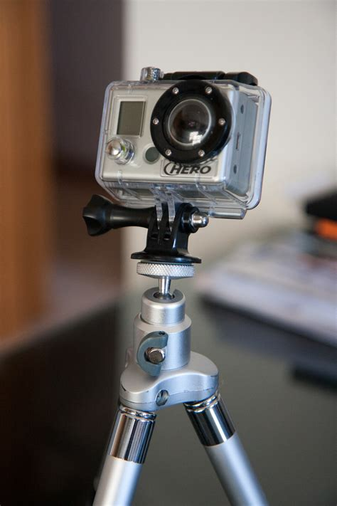 gopro mounts  standard tripod points photography stack exchange